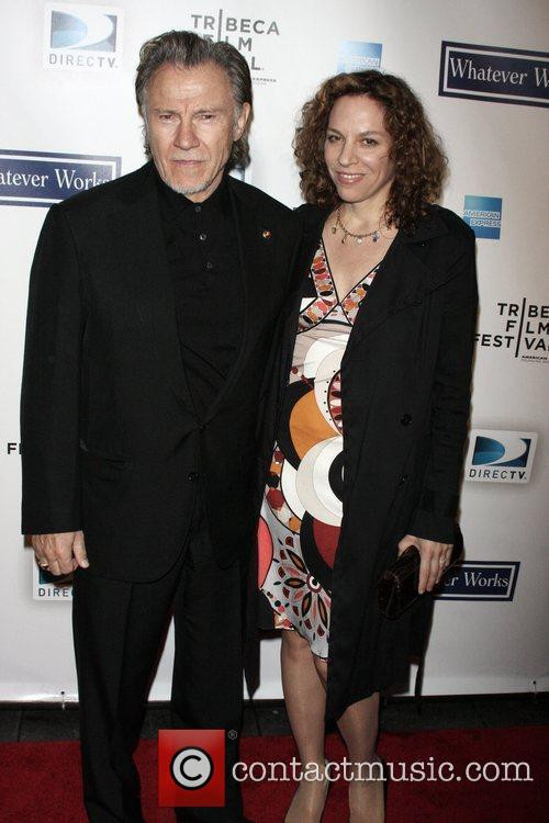 Harvey Keitel and Guest The premiere of 'Whatever...