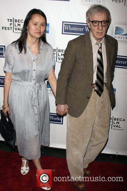 Woody Allen and Soon-Yi Previn The premiere of...