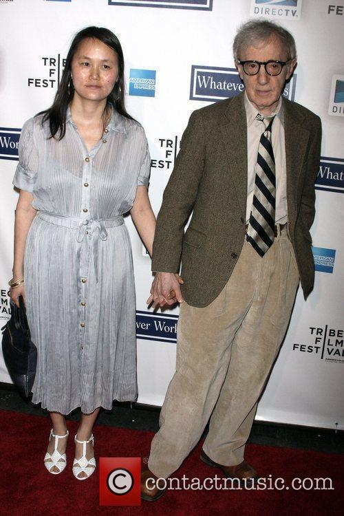 Soon-yi Previn and Woody Allen 6