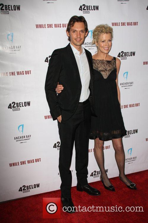Lukas Starr and Kim Basinger World Premiere of...