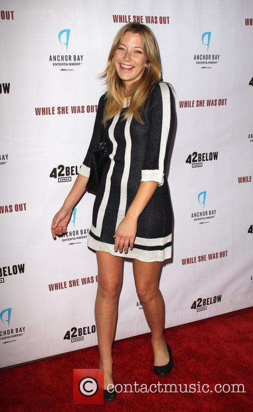 Sarah Roemer World Premiere of 'While She Was...