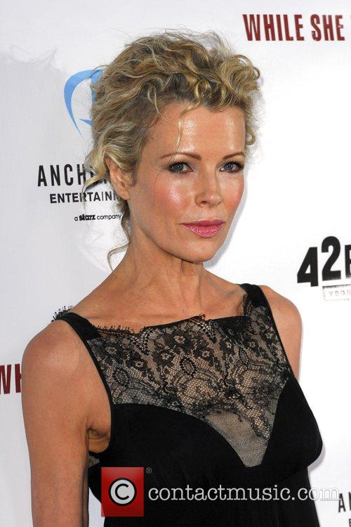 Kim Basinger Premiere movie of 'While She Was...