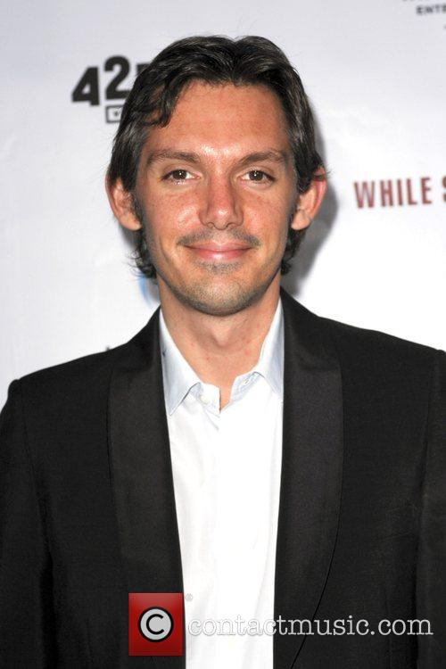Lukas Haas Premiere movie of 'While She Was...