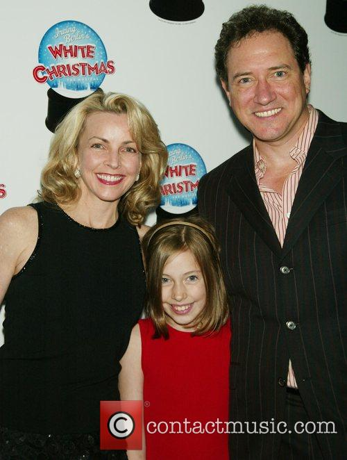Lynette Perry, Kevin McCollum and their daughter Opening...