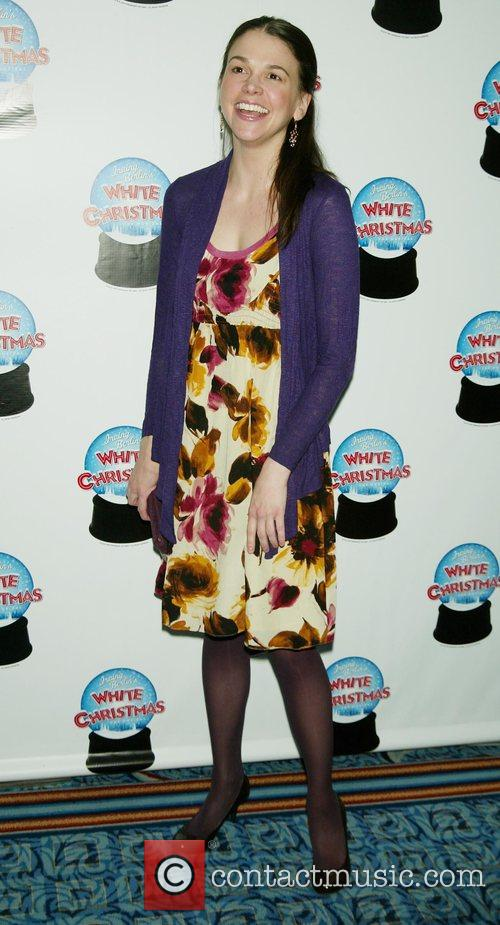 Sutton Foster Opening Night of the Broadway musical...