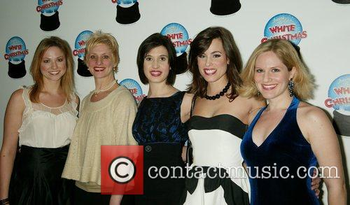 Cast Members Opening Night of the Broadway musical...