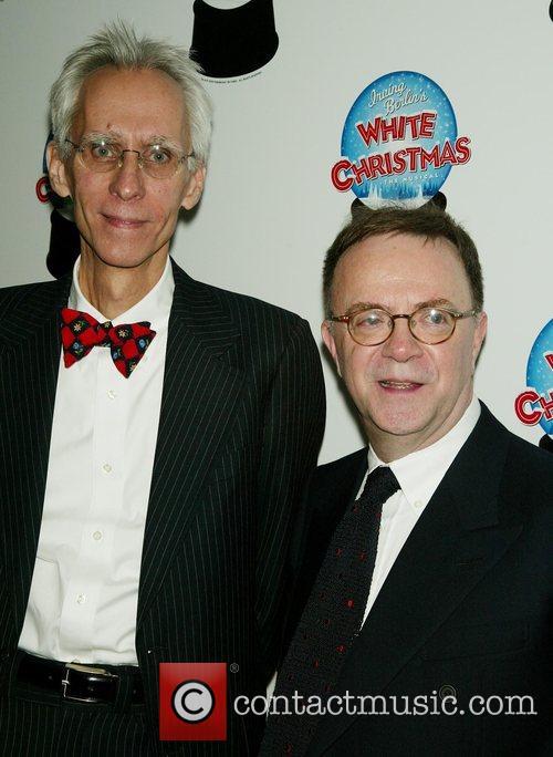 David Ives and Paul Blake Opening Night of...