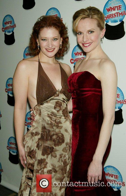 Kerry O'Malley and Meredith Patterson Opening Night of...