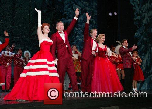 Opening Night of the Broadway musical White Christmas...