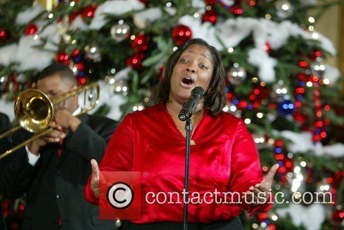 Entertainment at the final White House Children's Christmas...