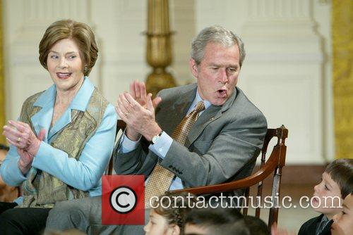George W Bush and White House 3
