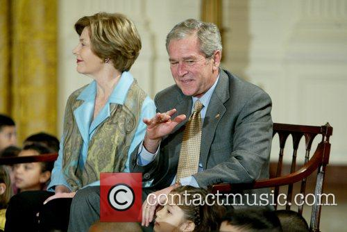 George W Bush and White House 6
