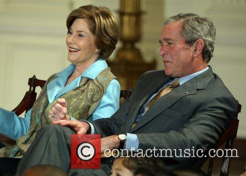 George W Bush and White House 1