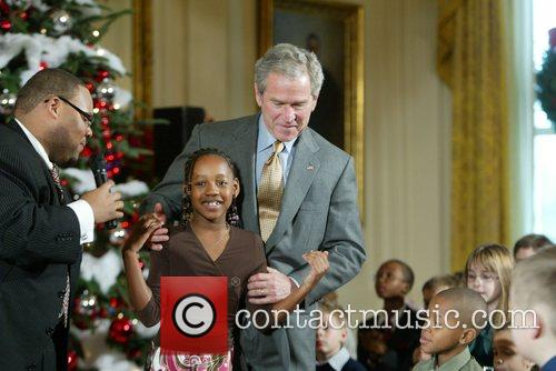 George W Bush and White House 4