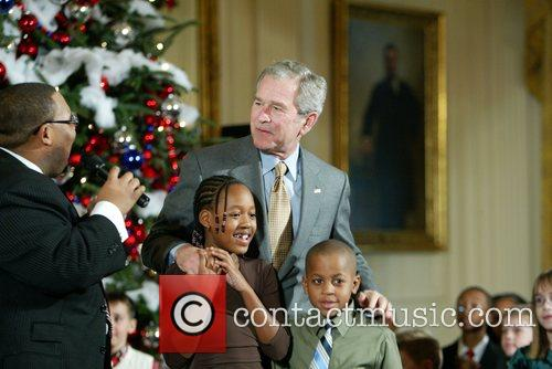 George W Bush and White House 11