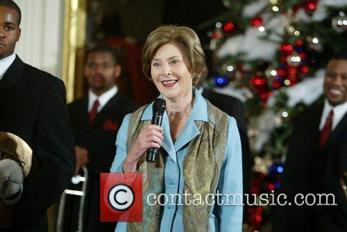 Laura Bush and White House 1