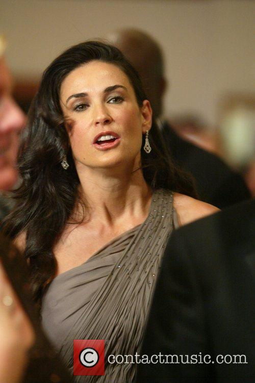 Demi Moore and White House 3