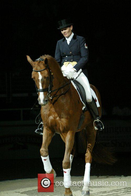 Ashley Holzer Washington International Horse show Washington DC,...