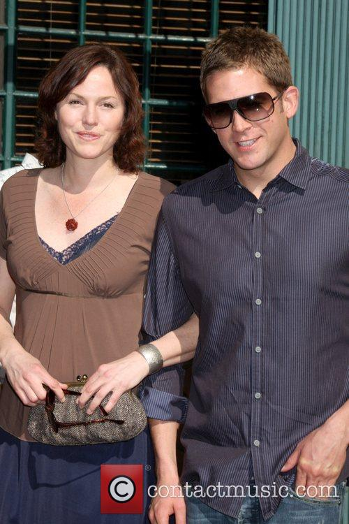 Jorja Fox and William Petersen 3