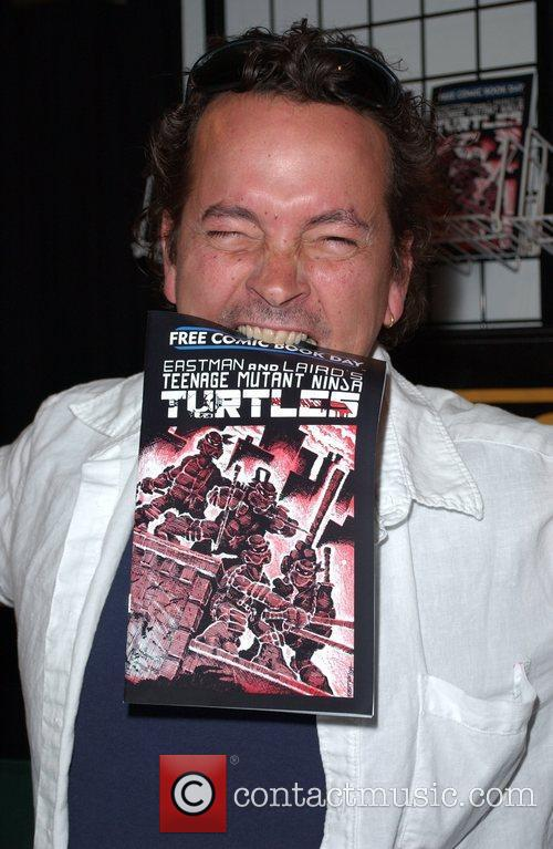 William Shatner signs copies of his new series...