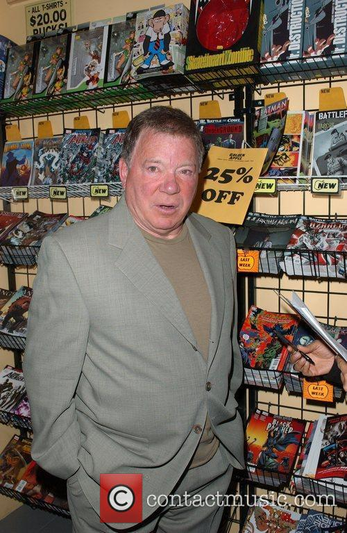 William Shatner  signs copies of his new...
