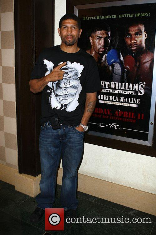 Winky Wright Pre-fight party for Winky Wright vs...