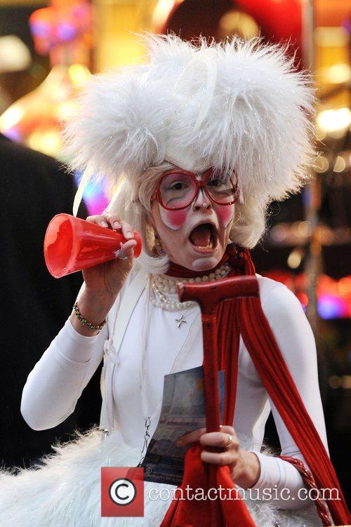 Cirque Du Soleil 'Wintuk' performers visit a taping...