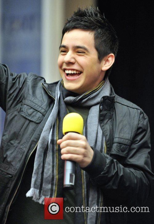 David Archuleta  appears at the annual CHUM...