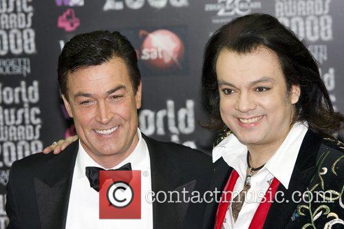 Philip Kirkorov and Daniel McVicar World Music Awards...