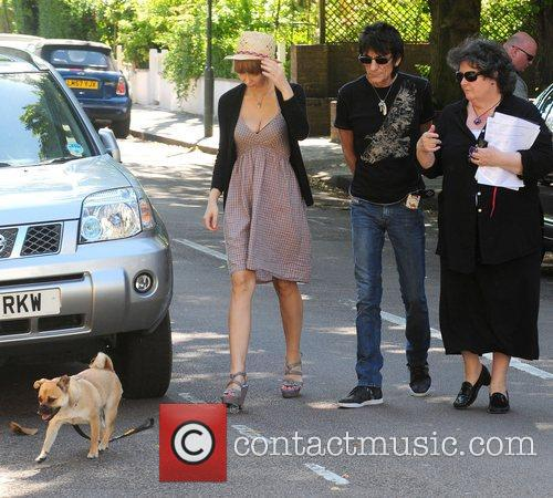 Ekaterina Ivanova and Ronnie Wood 9