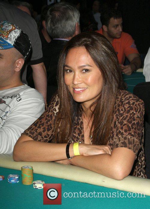 Tia Carrere The 7th Annual World Poker Tour...