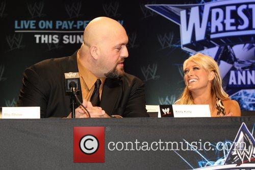Big Show and Kelly Kelly WrestleMania 25th anniversary...