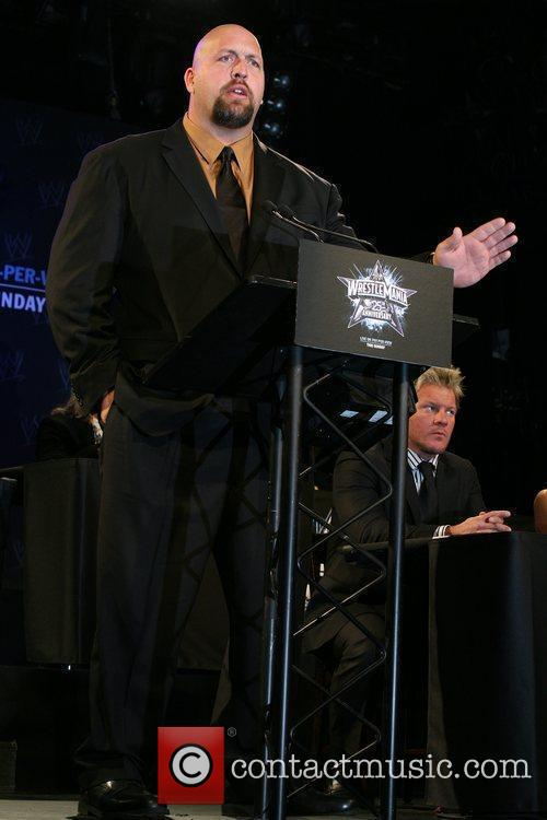 Big Show WrestleMania 25th anniversary press conference at...