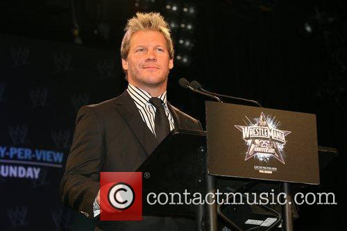 Chris Jericho WrestleMania 25th anniversary press conference at...