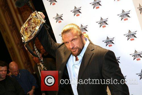 Triple H WrestleMania 25th anniversary press conference at...