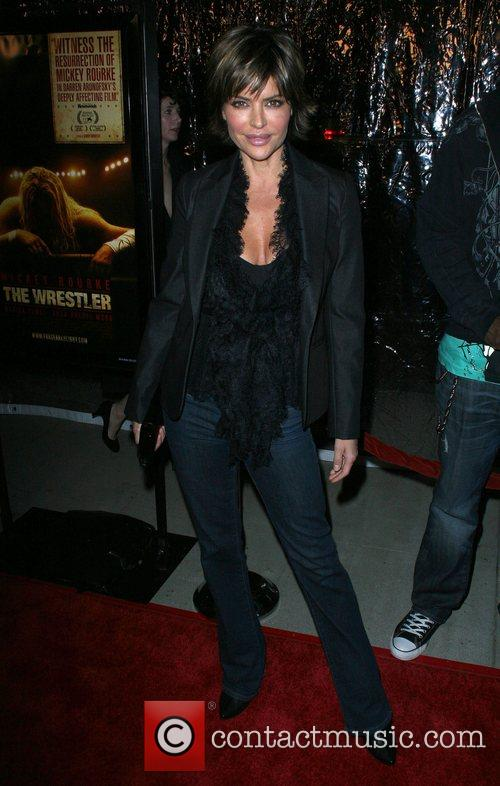 The L.A. Premiere of 'The Wrestler' held at...