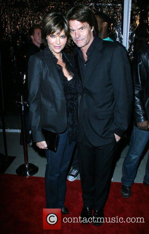Lisa Rinna and Harry Hamlin The L.A. Premiere...