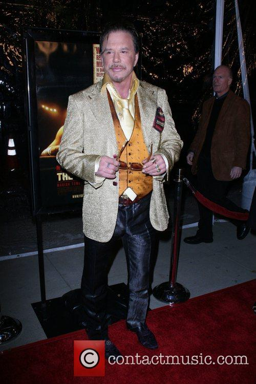 Mickey Rourke The L.A. Premiere of 'The Wrestler'...