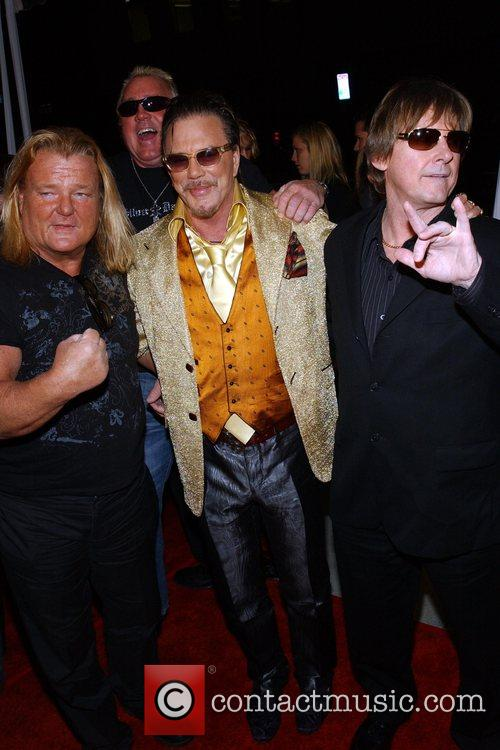 Greg Valentine, Mickey Rourke and Guest The L.A....