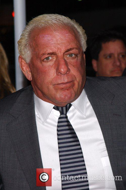 Ric Flair The L.A. Premiere of 'The Wrestler'...
