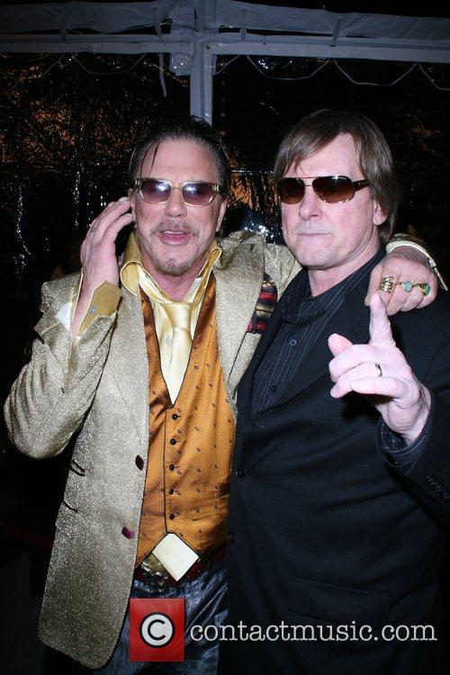 Mickey Rourke and Rowdy Roddy Piper The L.A....