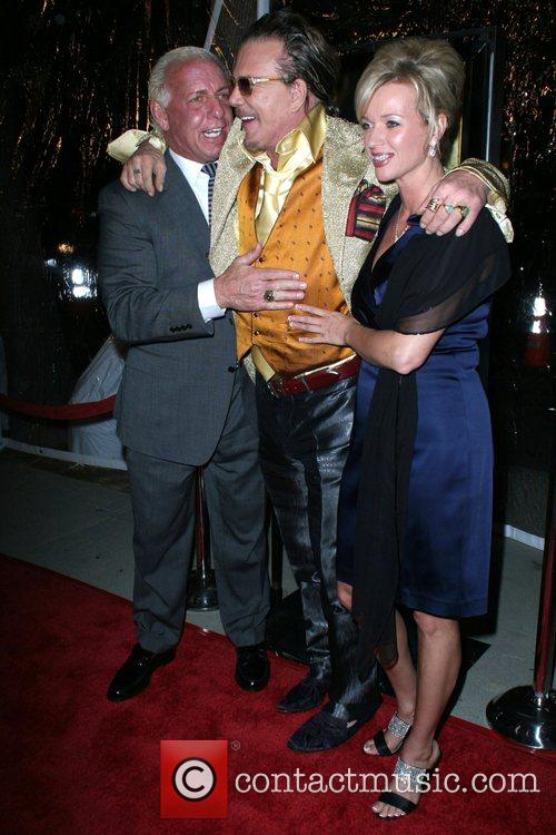 Ric Flare, Mickey Rourke and Guest The L.A....