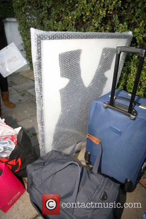 Ruth Lorenzo's belongings are removed from the 'X...