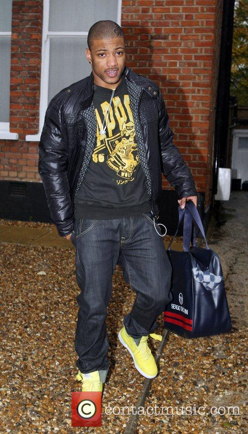 JB from group JLS leaving the X Factor...