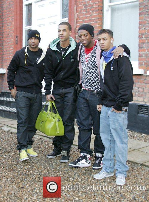 JB, Marvin Humes, Ortise Williams and Aston Merrygold...