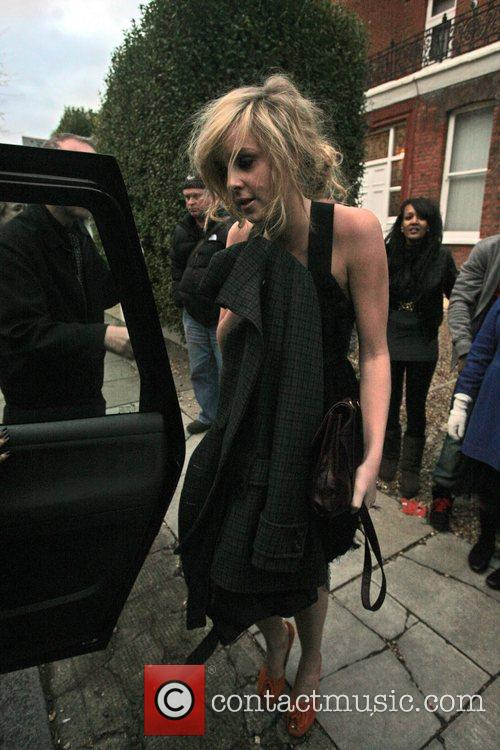 Diane Vickers Seen leaving the X Factor House,...