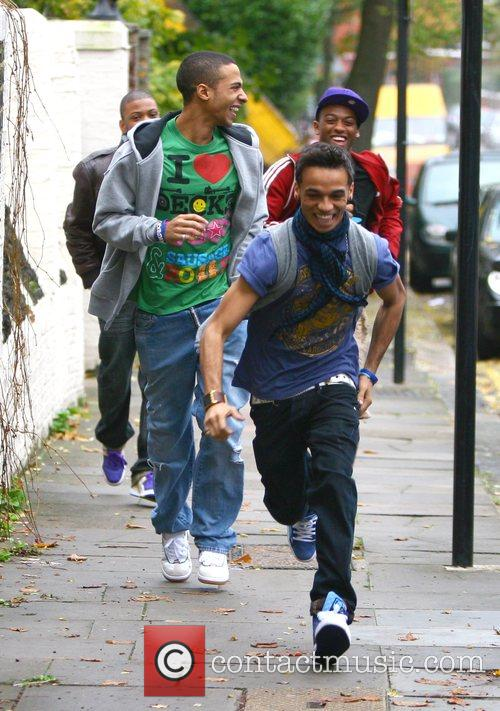 JB, Marvin Humes, Otrise Williams and Aston Merrygold...