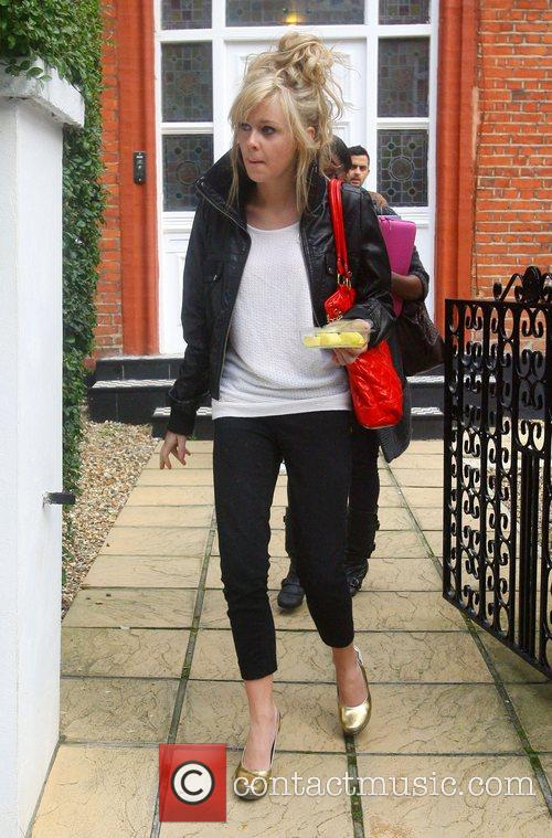 Diana Vickers leaving the 'X Factor' house London,...
