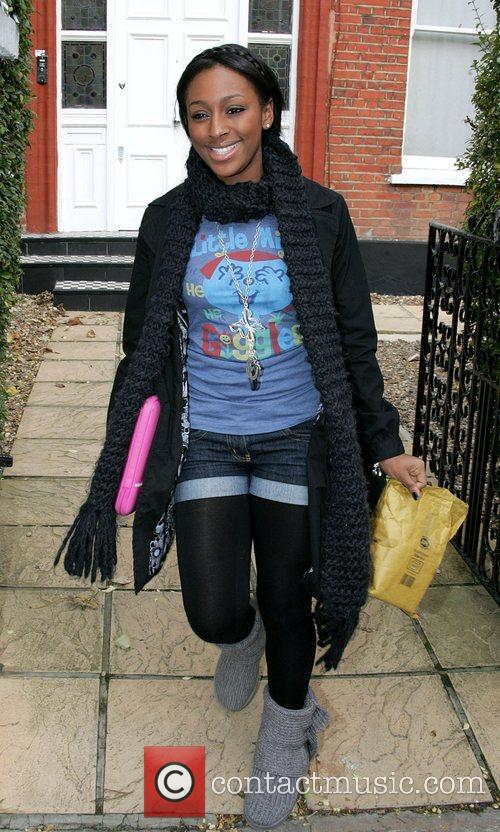 Leaves the 'X Factor' house