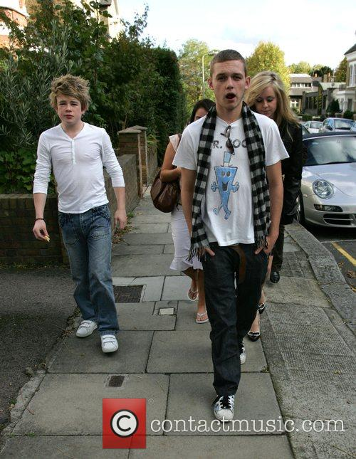 Eoghan Quigg, Scott Bruton and Diana Vickers leaving...
